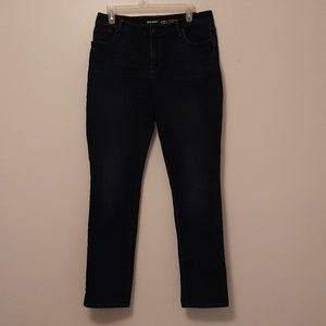 Old Navy dark denim mid rise Jeans size 10 curvy